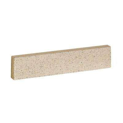 19 in. Solid Surface Technology Sidesplash in Cappuccino