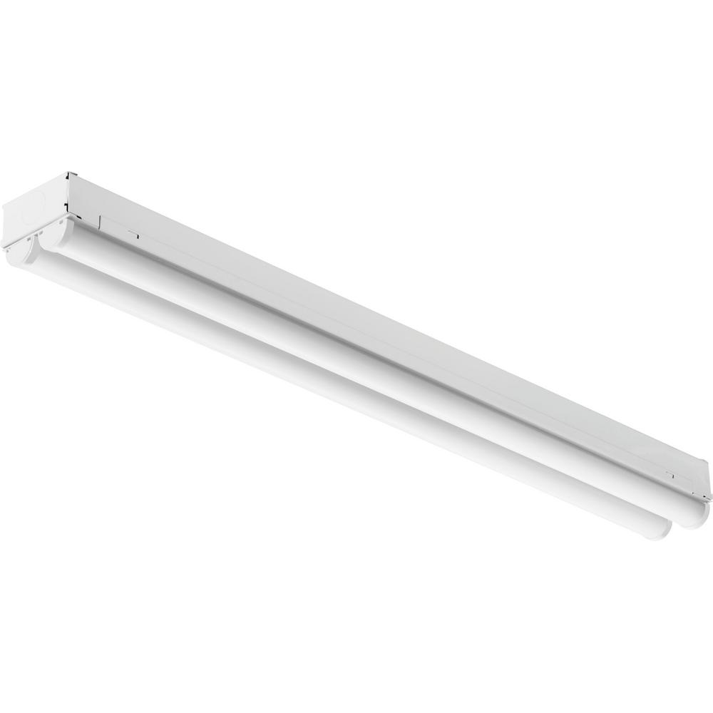 8 Ft 2 Lamp Fluorescent Strip Light White No Ssf2964wp 8ft: Lithonia Lighting 2.8 Ft. 34-Watt White Integrated LED