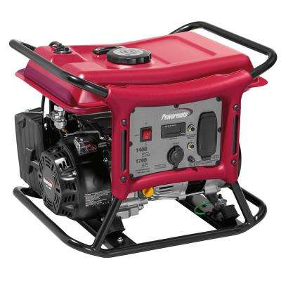 CX Series 1,400-Watt Gasoline Powered Recoil-Start Portable Generator