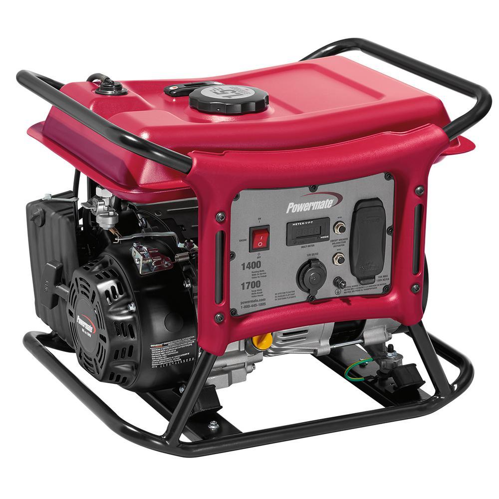 CX Series 1,400-Watt Gasoline Powered Recoil-Start Portable Generator