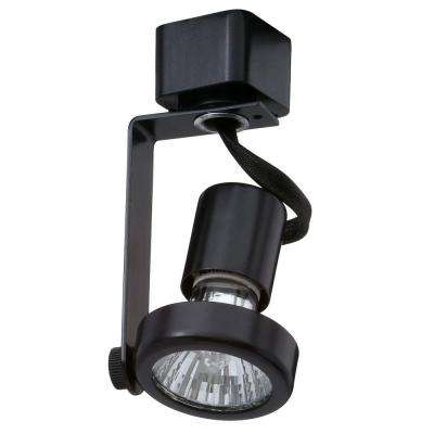 Trac-Lites Black Open-Back Gimbal Light