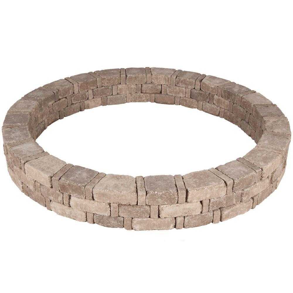 RumbleStone 72.5 in. x 10.5 in. Tree Ring Kit in Cafe