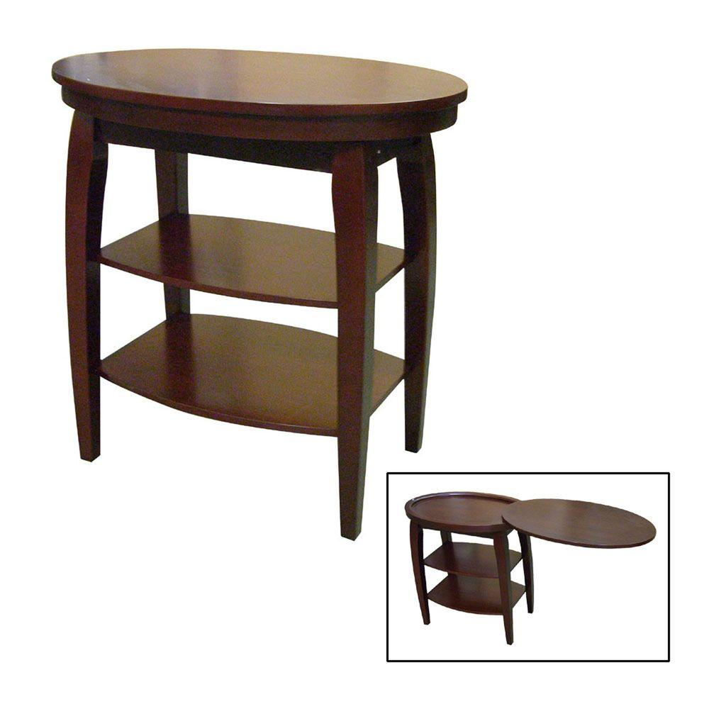 home decorators collection magazine home decorators collection cherry magazine end table h 136 11448