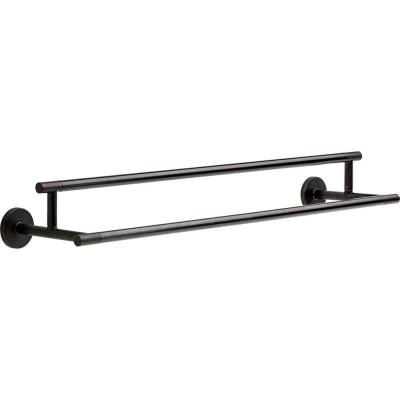 Trinsic 24 in. Double Towel Bar in Venetian Bronze