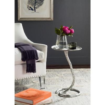 Mina Silver Side Table