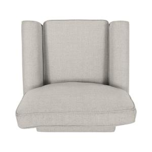 Sensational Noble House Cornelius Mid Century Modern Beige Fabric Club Gamerscity Chair Design For Home Gamerscityorg