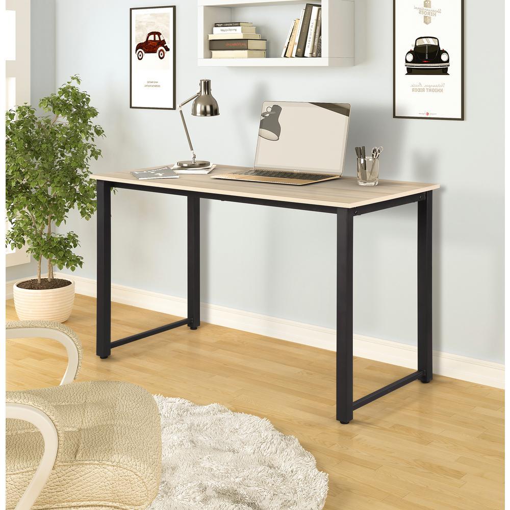 Oak Modern Simple Design Computer Desk Table Workstation