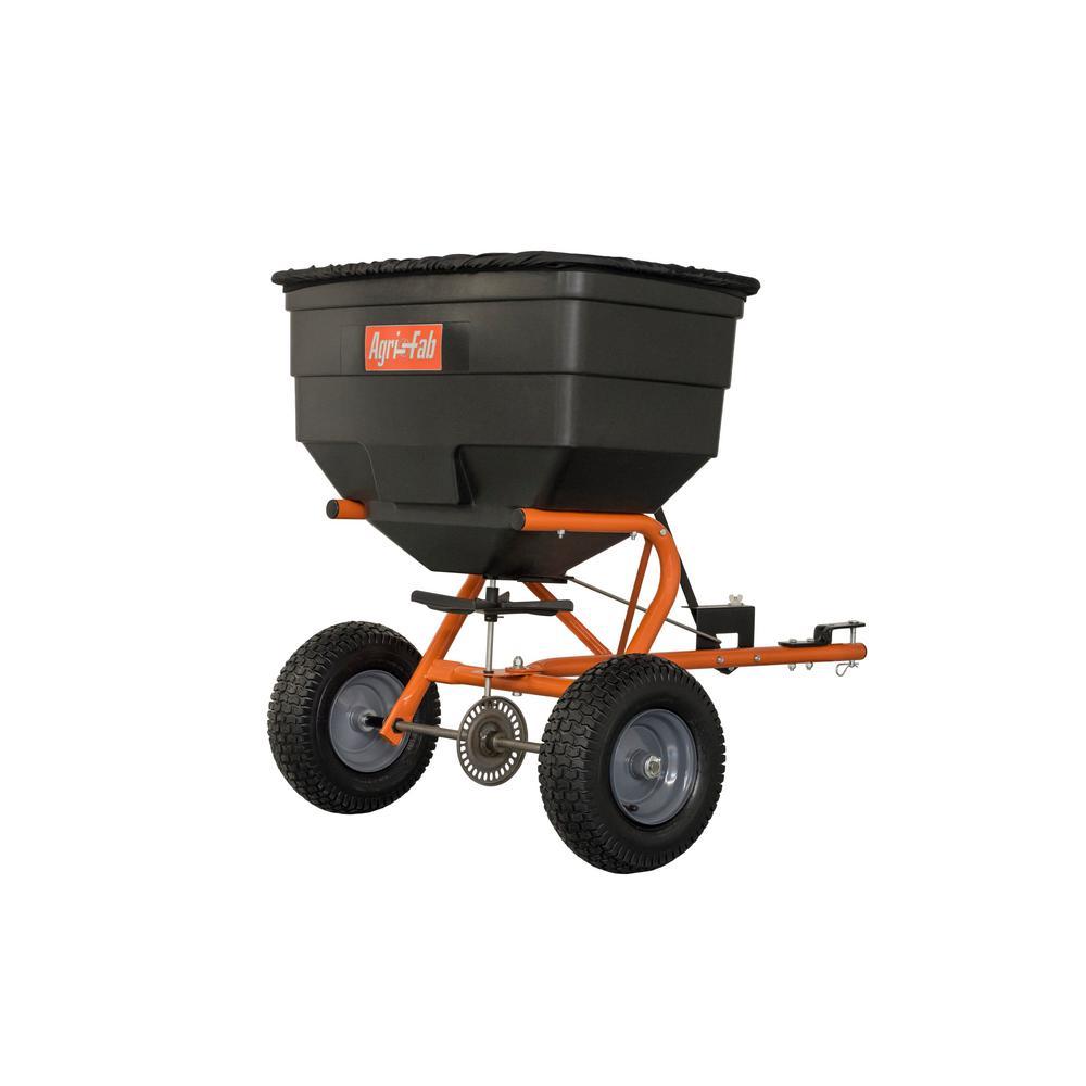 Agri-Fab 185 lbs. Capacity Tow Broadcast Spreader