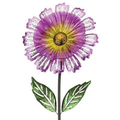 53 in. Cosmo Garden Flower Stake Purple
