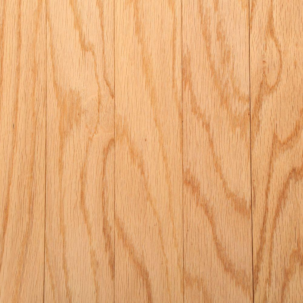 Bruce Oak Rustic Natural 3/8 In. Thick X 3 In. Wide X Random Length  Engineered Hardwood Flooring (30 Sq. Ft./case) EVS326S   The Home Depot