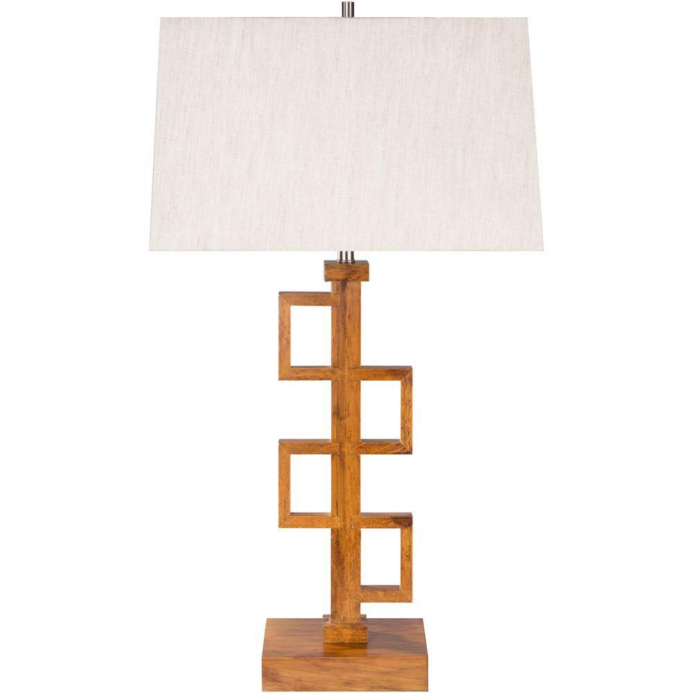 Watt 31 in. Chinesebirch Indoor Table Lamp