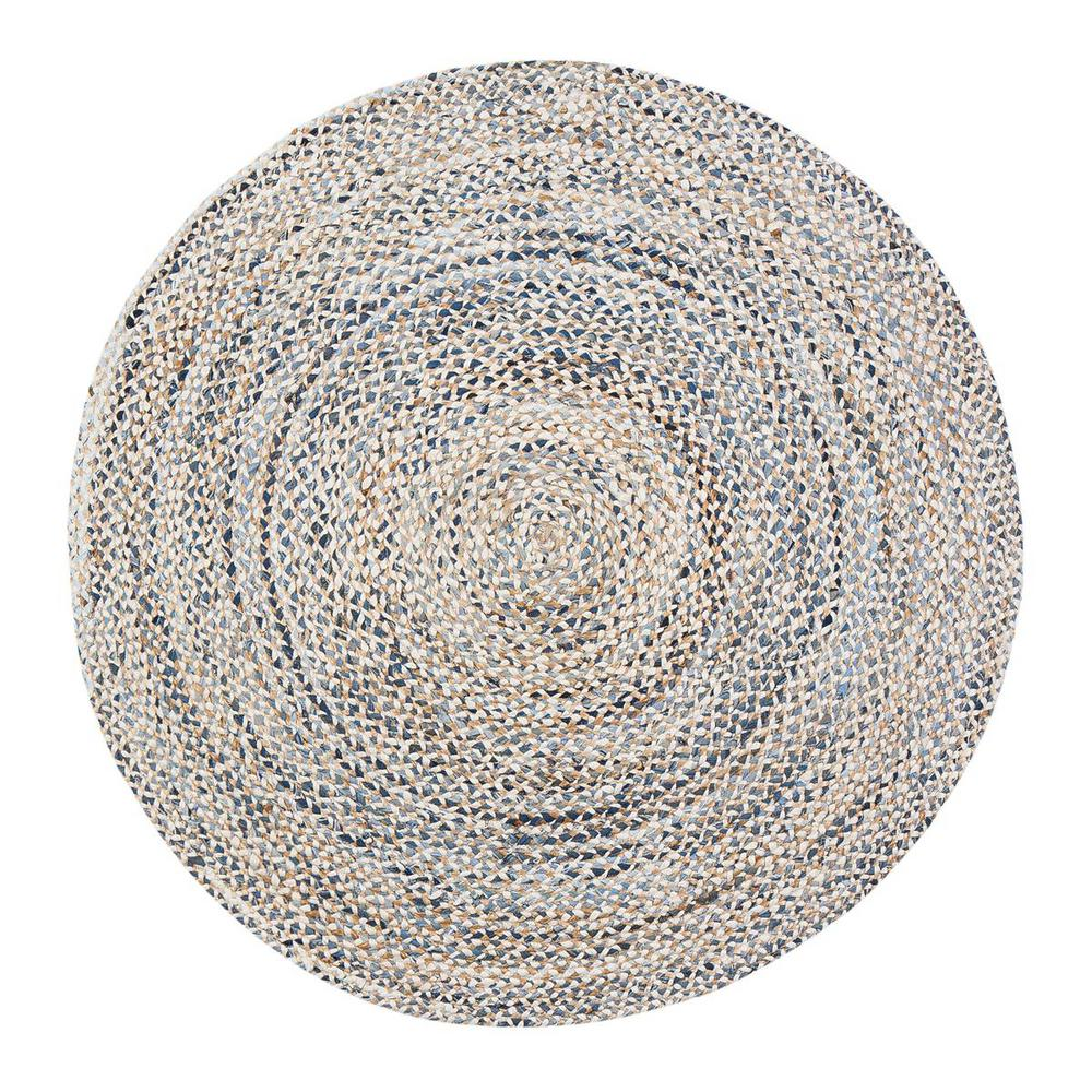 Janis Tan 6 ft. Round Area Rug