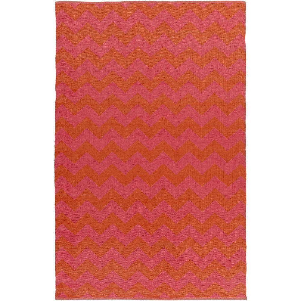 Corbu Pink 8 ft. x 11 ft. Indoor/Outdoor Area Rug