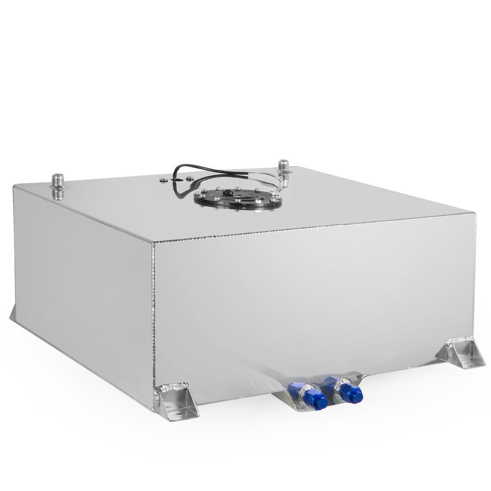 Stark 20 Gal. Aluminum Square Liquid Storage Fuel Transfer Tank