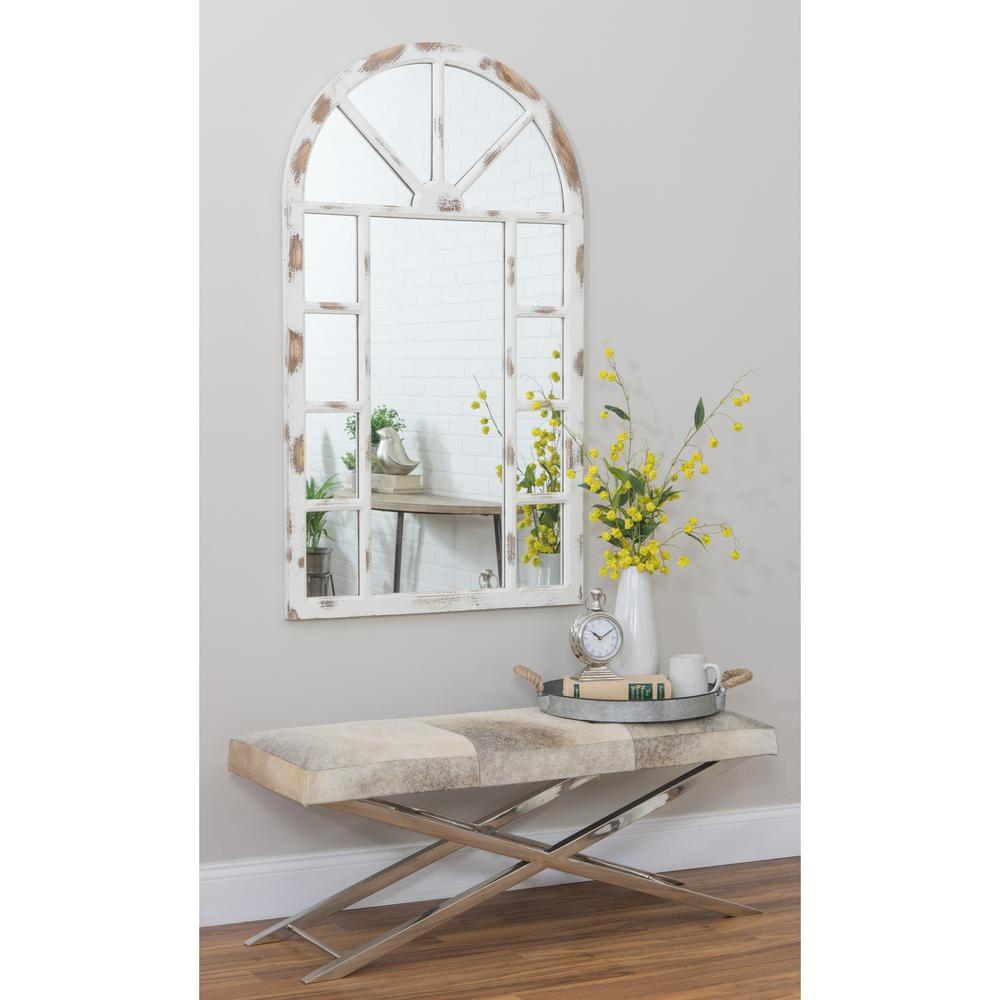 Lara Farmhouse Arch Wall Mirror