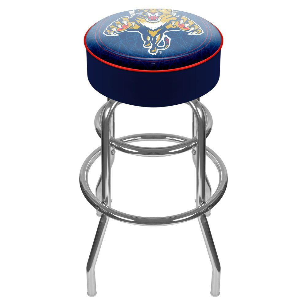 Trademark NHL Florida Panthers Padded Swivel Bar Stool