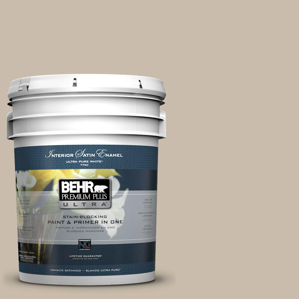 BEHR Premium Plus Ultra 5-gal. #T13-8 Matrix Satin Enamel Interior Paint