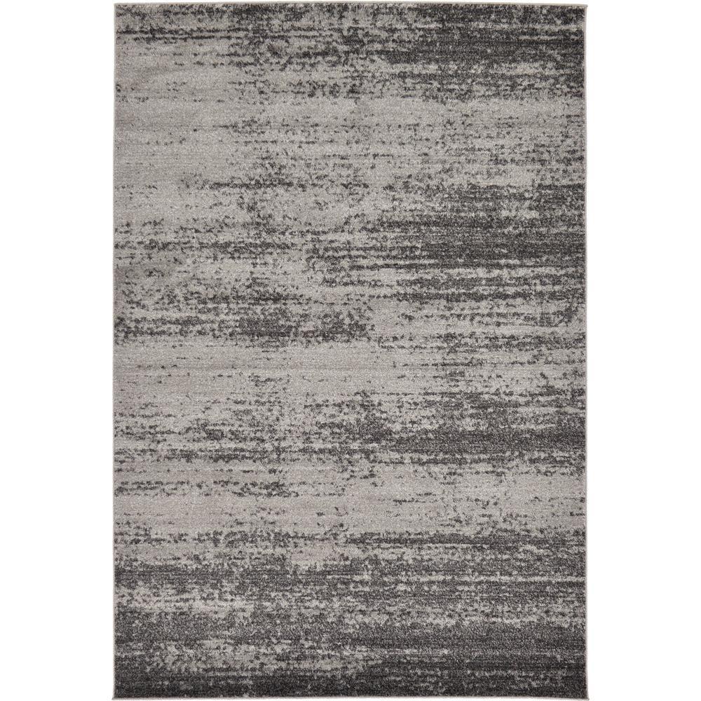 Del Mar Lucille Dark Gray 6' 0 x 9' 0 Area Rug