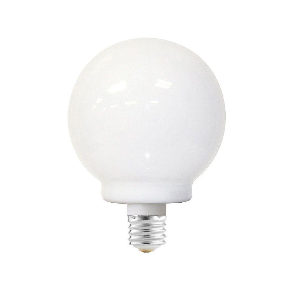 EcoSmart 40W Equivalent Soft White  G18 CFL Light Bulb (2-Pack)