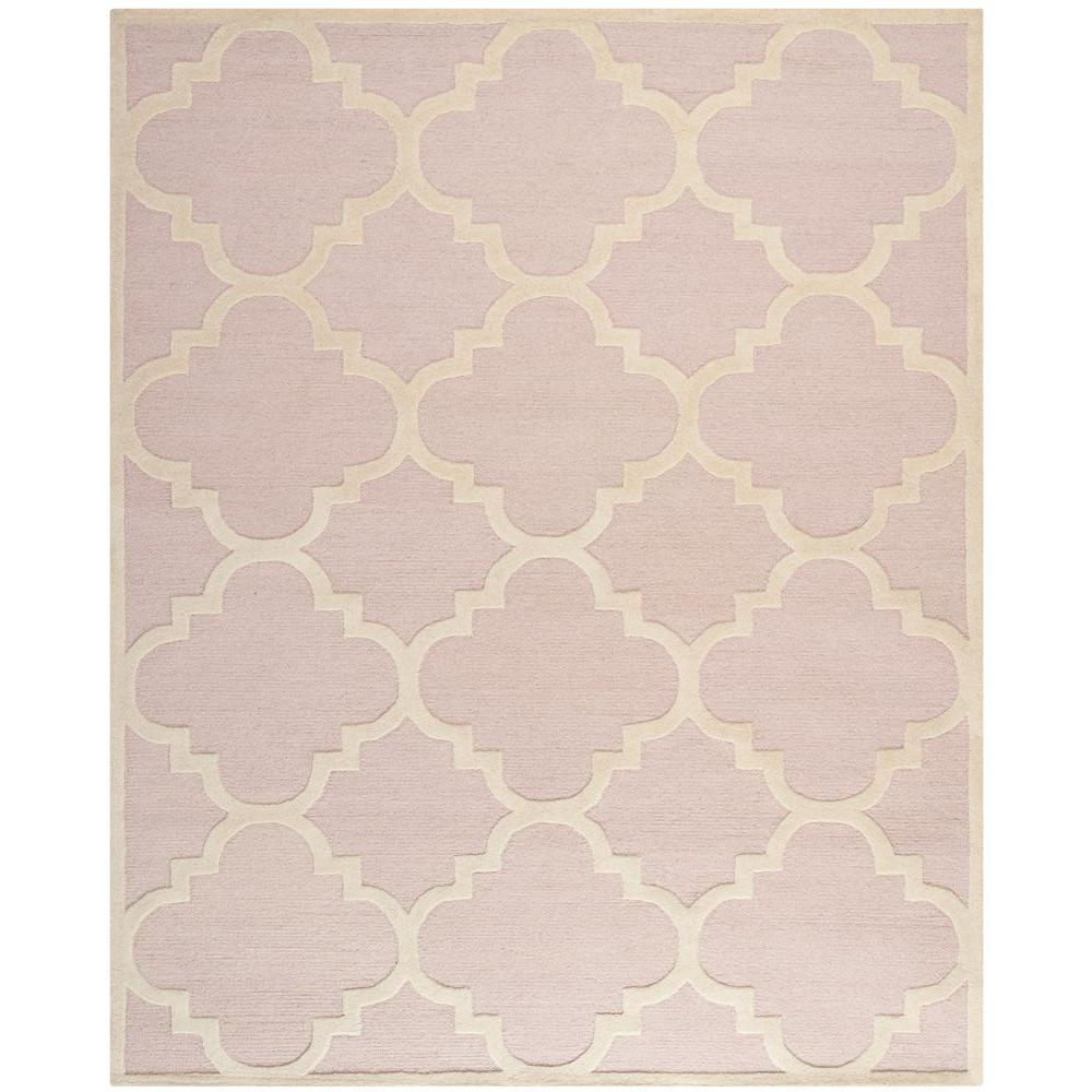 Safavieh Cambridge Light Pink/Ivory 8 Ft. X 10 Ft. Area