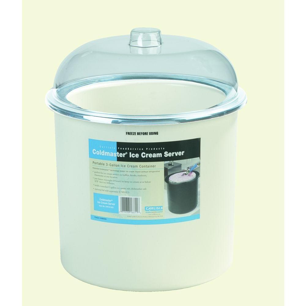Carlisle Coldmaster White Ice Cream Dispenser CM101202