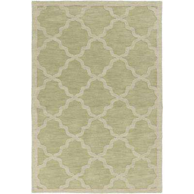 Central Park Abbey Moss 8 ft. x 10 ft. Indoor Area Rug