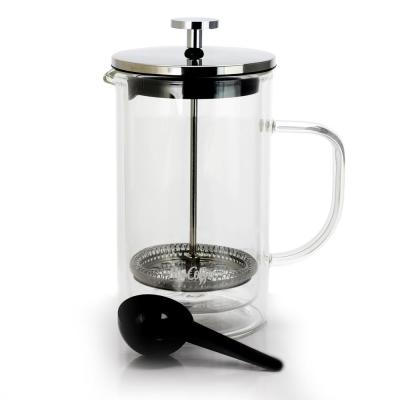 Hyland 2.5-Cup Clear Glass French Press Coffee Maker