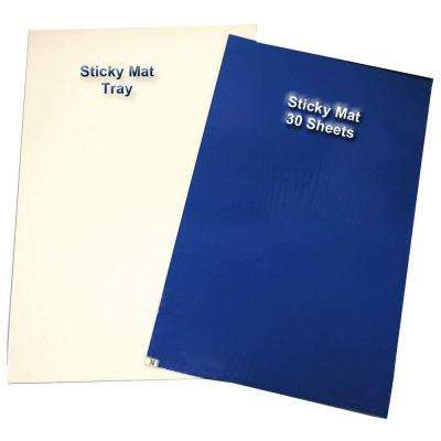26 in. x 37 in. Sticky Mats Starter Kit