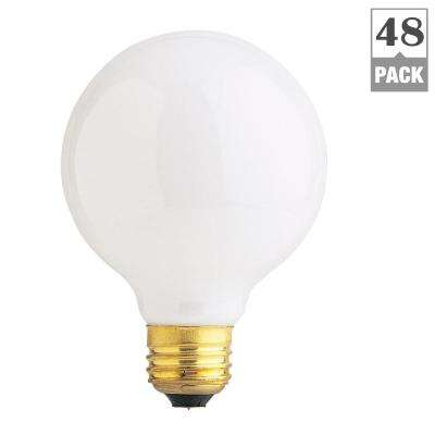 40-Watt Soft White Dimmable Incandescent G25 Frosted Light Bulb Maintenance Pack (48-Pack)