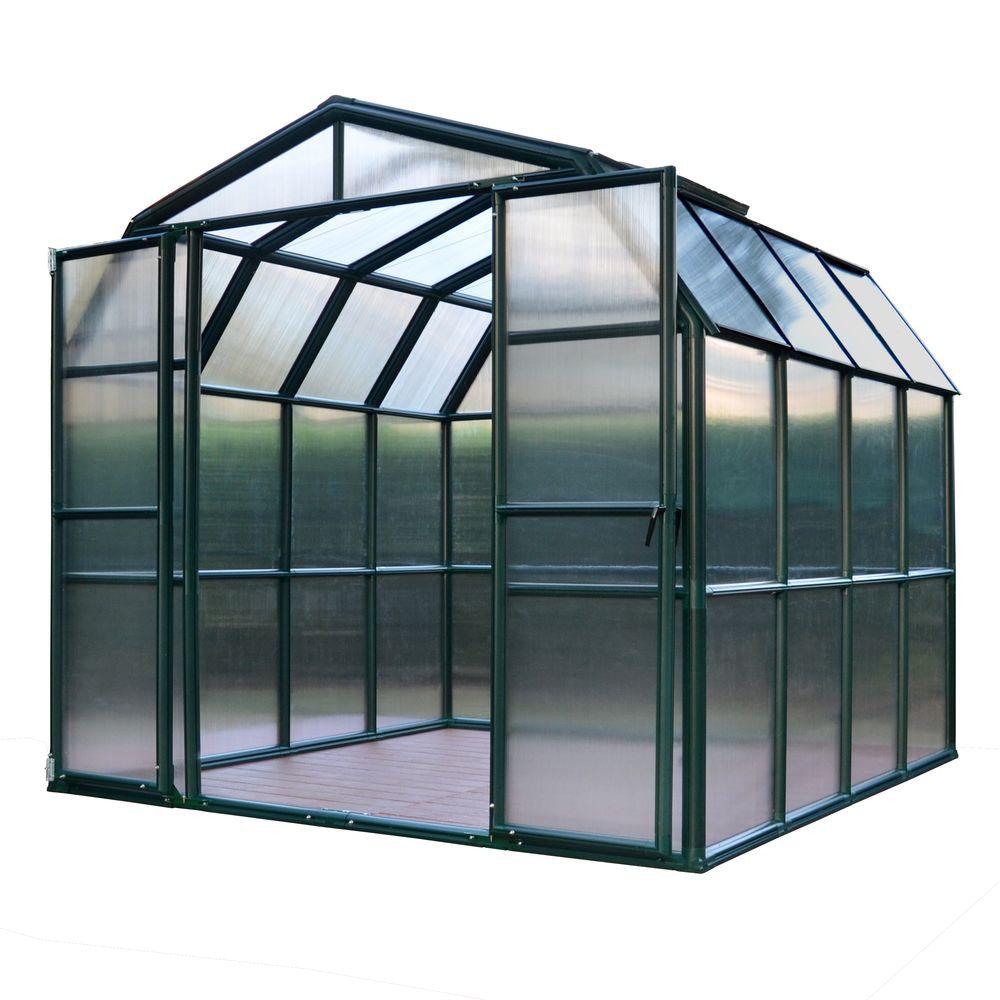 Rion Grand Gardener 8 ft. x 8 ft. Opaque Greenhouse