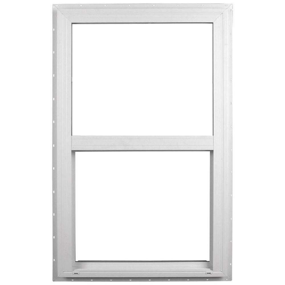 Ply Gem 35 5 In X 59 Single Hung Vinyl Window White