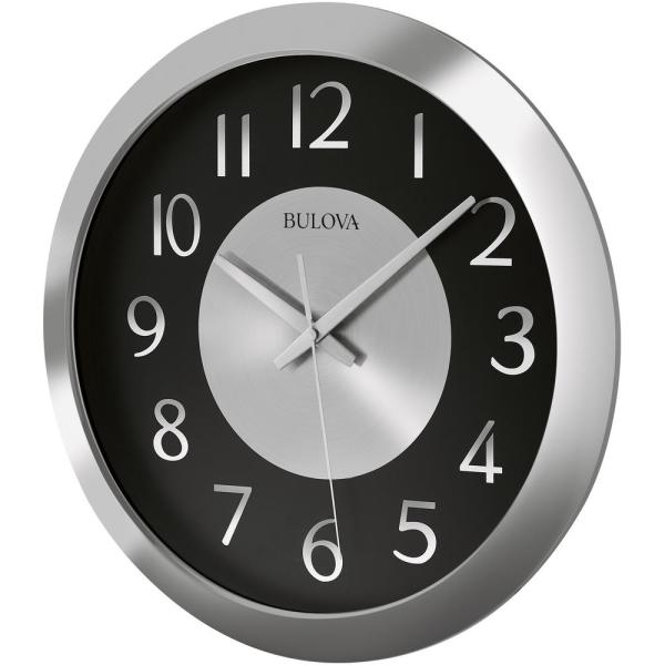 16 in. H x 16 in. W Wall Clock with Bluetooth Technology