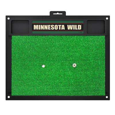 NHL - Minnesota Wild 20 in. x 17 in. Golf Hitting Mat