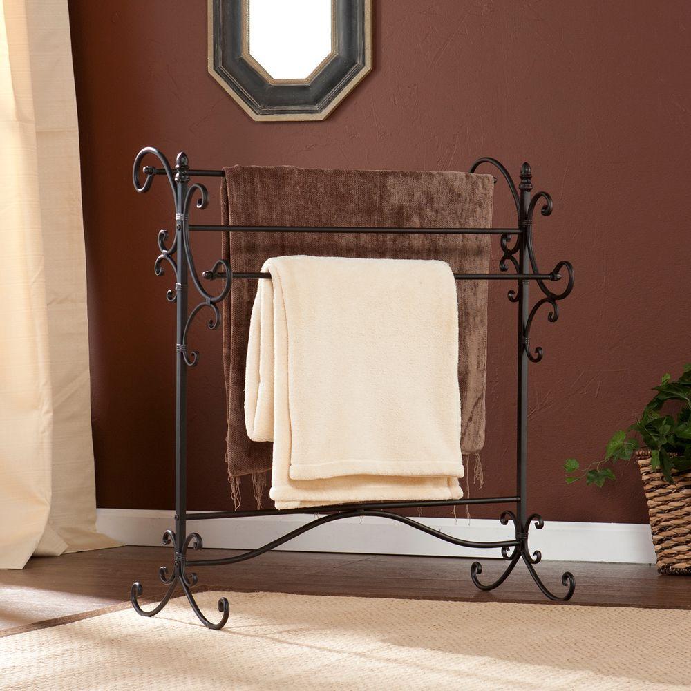 Deanna Black and Bronze Storage Furniture