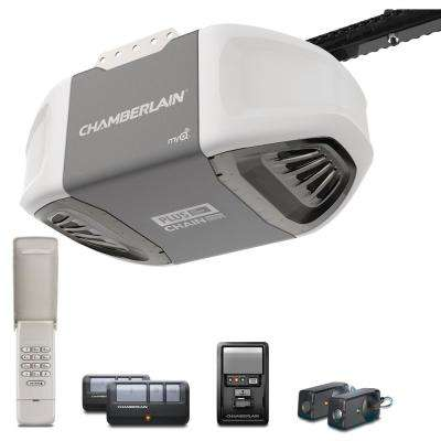 3/4 HP Durable Chain Drive Garage Door Opener with Plus Lifting Power