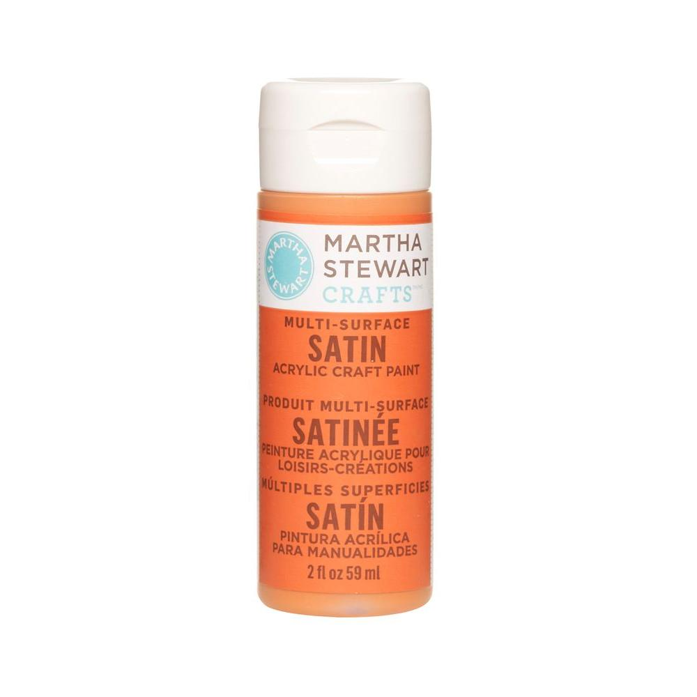 Martha Stewart Crafts 2-oz. Carrot Multi-Surface Satin Acrylic Craft Paint