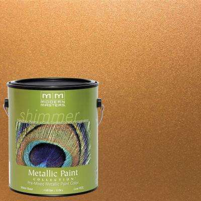 1 Gal. Tequila Gold Satin Metallic Interior/Exterior Paint