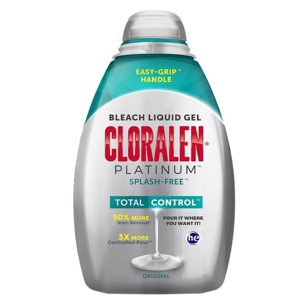 110 oz. Cloralen Platinum Total Control Splash-Free Bleach Liquid Gel