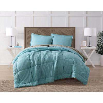 Jackson Stone Blue King Comforter Set