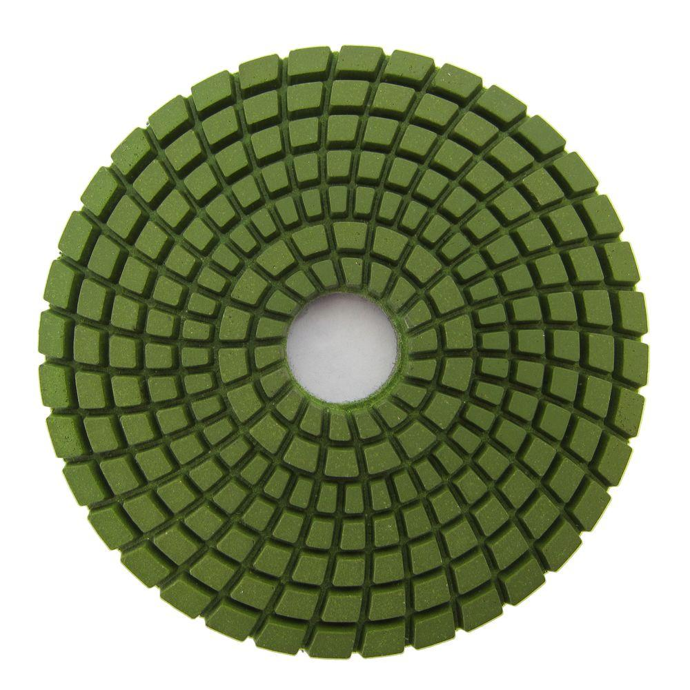 Archer USA 4 in. #800 Grit Wet Diamond Polishing Pad for Stone