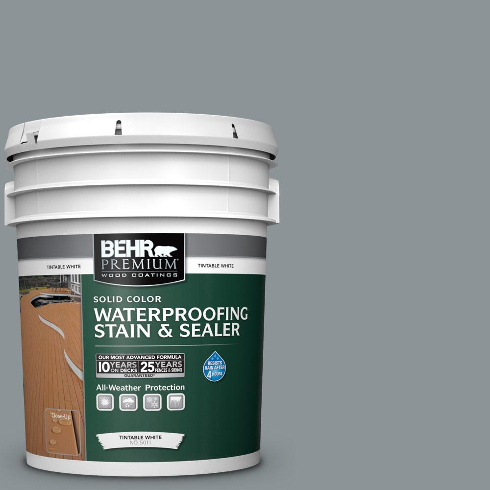 Behr premium 5 gal n450 4 moonquake solid waterproofing - Behr exterior wood stain reviews ...