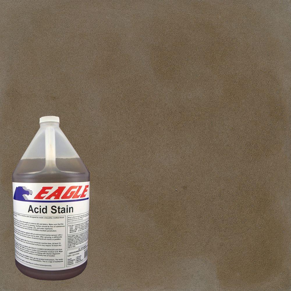 1 gal. Taupe Interior/Exterior Concrete Acid Stain