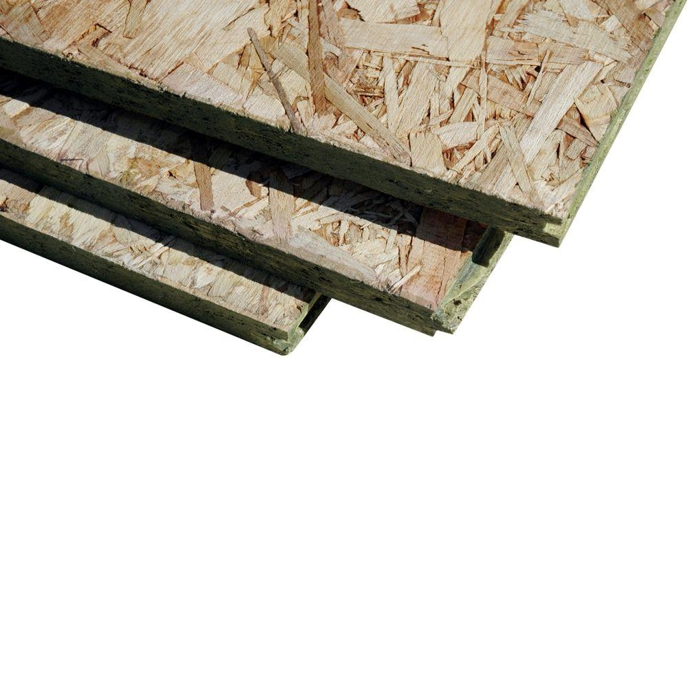 T Amp G Oriented Strand Board Common 23 32 In X 4 Ft X 8