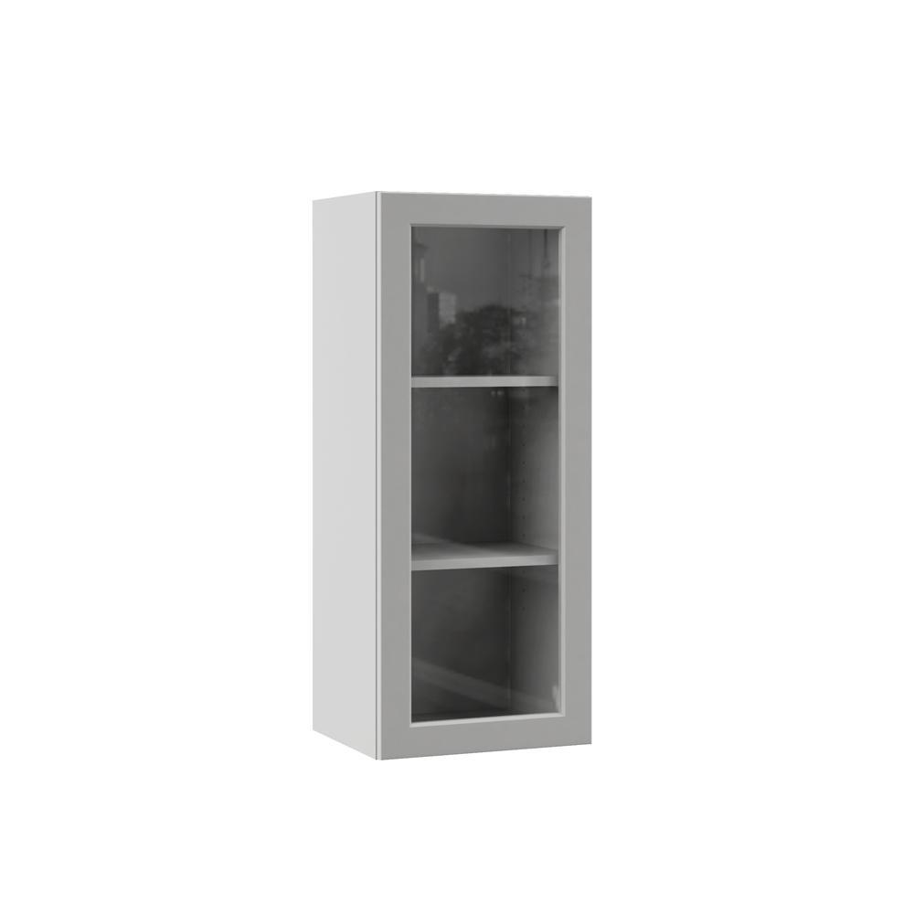 Frameless Kitchen Cabinets Home Depot: Hampton Bay Designer Series Melvern Assembled 15x36x12 In
