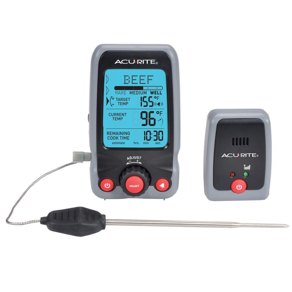 Digital Meat Thermometer and Timer with Pager