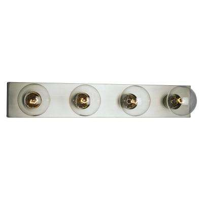 Negron 4-Light Pewter Incandescent Bath Vanity Light