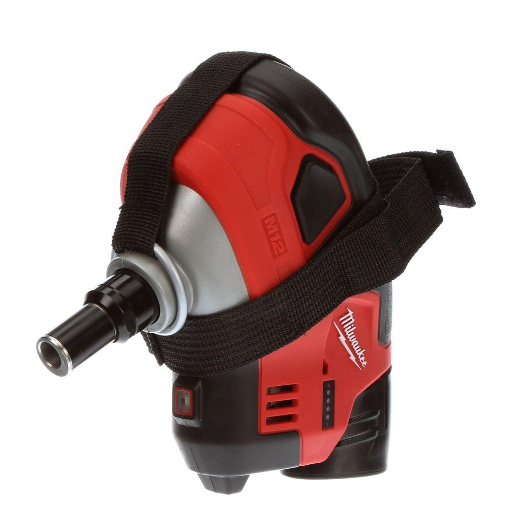 Milwaukee M12 12-Volt Lithium-Ion Cordless Palm Nailer. (Tool-Only)