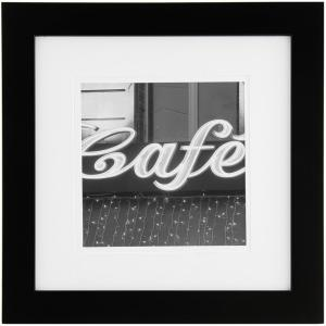 Pinnacle 8 inch x 8 inch Black Picture Frame by Pinnacle