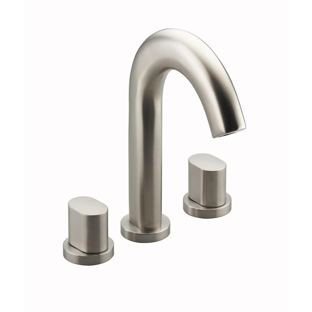KOHLER Oblo Deck-Mount 2-Handle Bathroom Faucet Trim Kit in Vibrant ...