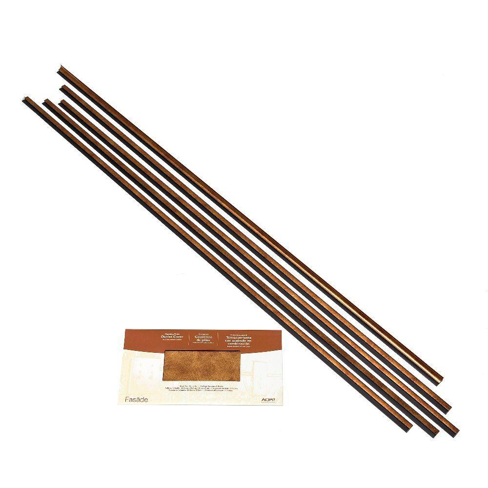 Fasade Large Profile Backsplash Accessory Kit in Antique Bronze 961-31